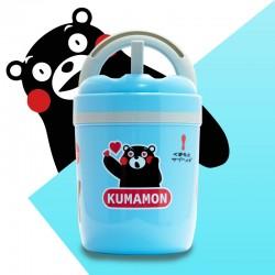 酷萌熊本熊冷熱兩用壺(粉、藍)可選色