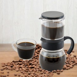 咖啡玻璃沖泡壺400cc
